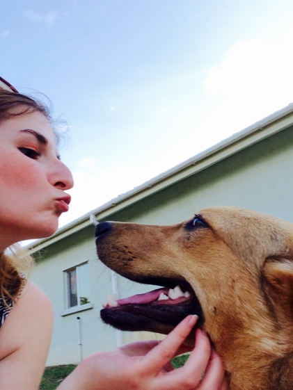 Kisses are for pups
