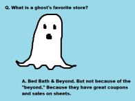 What's a ghost's favorite store?